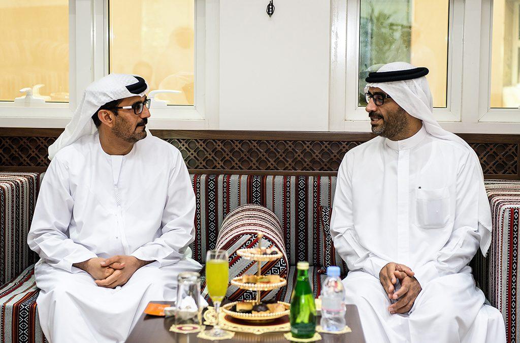 زيارة سعادة عبدالله حمدان بن دلموك لوزارة التربية