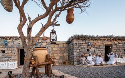 القرية التراثية   التابعة لمركز حمدان بن محمد لإحياء   تفتتح ابوابها للعام الرابع